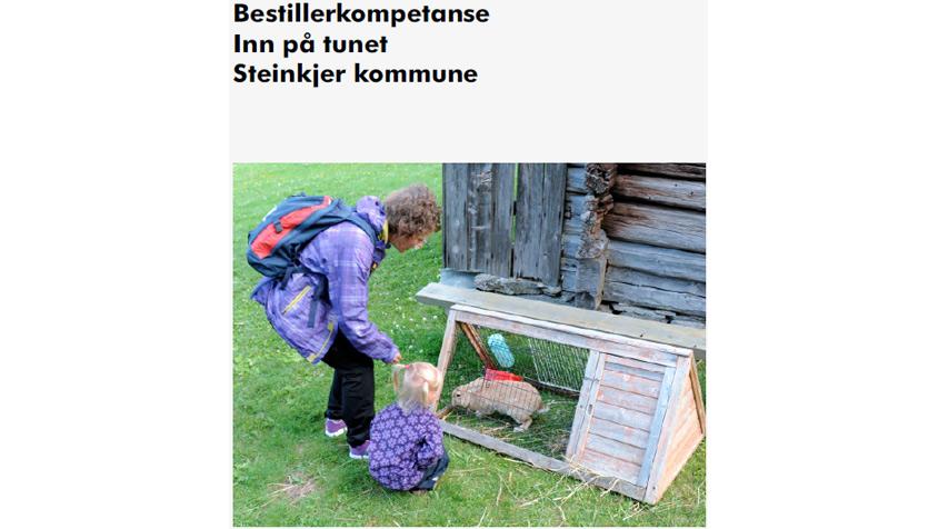 Bestillerkompetanse Inn på tunet - Steinkjer kommune