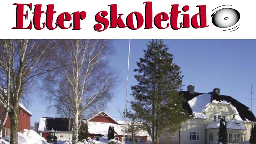 Etter skoletid - Prosjektrapport Re kommune 2006